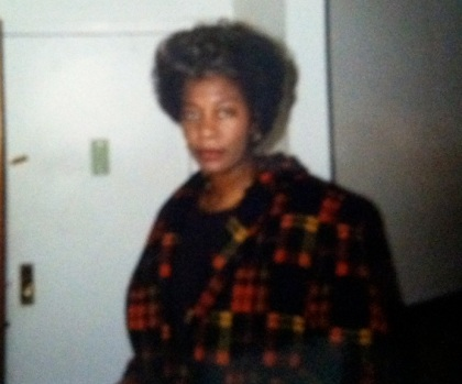 My Mom at 48 years old, Yonkers, NY, December 23, 1995. (Donald Earl Collins).