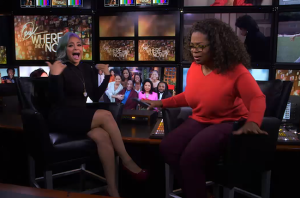 Raven-Symoné on Oprah's Where Are They Now, October 5, 2014. (http://www.billboard.com). Qualifies as fair use - picture directly related to subject matter, and of low resolution.