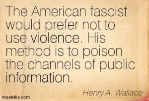 Quote from Henry A. Wallace, Vice-President of the nited States, 1944. (http://meetville.com).
