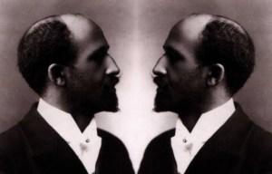 W.E.B. Du Bois in duality (double-consciousness), original picture circa 1903, November 26, 2014. (http://www.storify.com/ozunamartin).