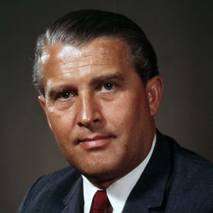 "Wernher von Braun (1912-1977), a ""reformed"" Nazi, American citizen, and father of US space program (or WWIII, TBD). (http://biography.com)."
