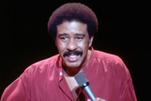 Richard Pryor doing stand up, posted August 11, 2014. (http://deadline.com).