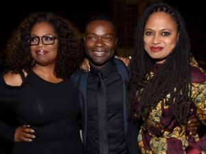 Co-Executive Producer Oprah Winfrey, Oscar Nominee David Oyelowo, and Director Ava DuVernay at AFI Fest premiere for Selma, November 12, 2014. (Alberto E. Rodriguez/Getty Images, via http://variety.com).