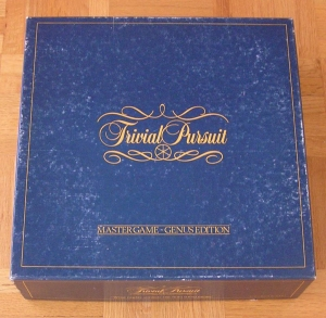 Original Trivial Pursuit, Master Game, Genus Edition, 1981, January 5, 2015.  (http://epicrapbattlesofhistory.wikia.com/).