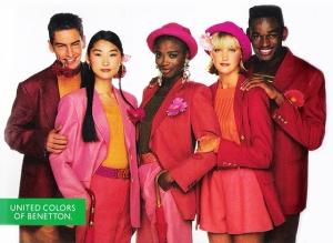 Benetton ad, 1980s, January 2013. (http://fashionfollower.com/).