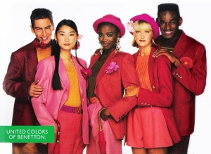 Benetton ad, 1980s, January 2013. (http://fashionfollower.com/).