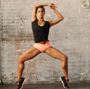 American Ballet Theater soloist Misty Copeland in a promotional photo via her Under Armour ad deal, January 30, 2014. (Under Arnour via Huffington Post).