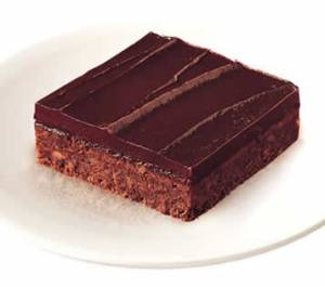 Sara Lee Iced Fudge Nut Brownie (yes, they still make them), 2014. (http://saraleefoodservice.com/).