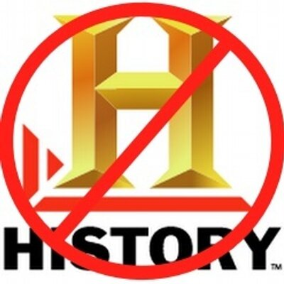 Fake History Channel Twitter account, June 2012. (@NotHistory1).