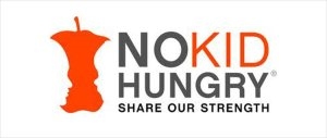 NO KID Hungry campaign logo, Share Our Strength, June 24, 2015. (https://www.nokidhungry.org/).