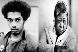 Michael Stewart (1958-1983) and Eleanor Bumpurs (1918-1984) had me thinking about police brutality long before my first Walking While Black encounter, July 4, 2015 (via Adobe Photoshop).