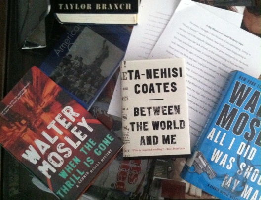 My reading (and writing) for Summer 2015, July 23, 2015. (Donald Earl Collins).