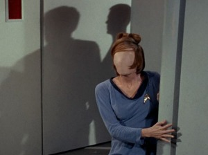 Defaced woman, Star Trek TOS, Season 1, Episode 2, September 15, 1966. (http://goodcomics.comicbookresources.com/).