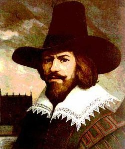 Portrait of Guy Fawkes (1570-1606), author/date unknown, August 5, 2015. (http://plus.google.com).