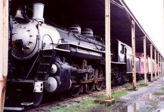 Known as the 750, it was donated to the Atlanta Chapter of the National Railway Historical Society in 1962, and operated through the 1980s (likely the train that scared me in 1975), August 15, 2015. (http://www.steamlocomotive.com/nc-ga/sa750.jpg).