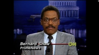 The great Bernard Shaw, CNN news anchor from 1980 to 2001, accessed September 11, 2015. (http://cnn.com).