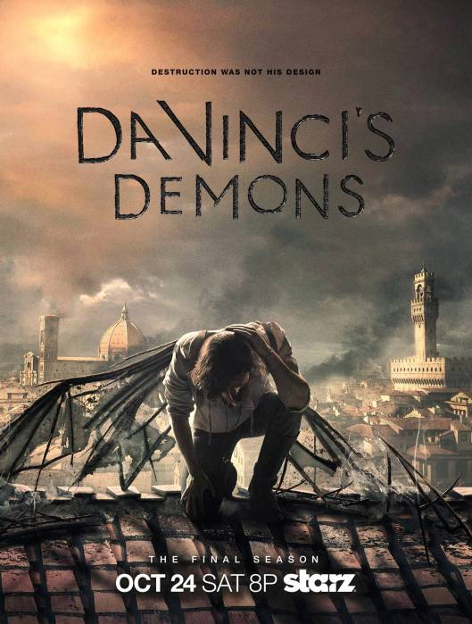 Da Vinci's Demons Season 3 Poster, October 2015. (Starz via http://www.ew.com/). Fair use due to direct connection with subject matter and non-commercial use.