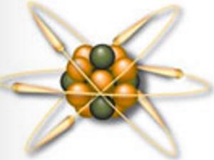 A visual representation of a carbon atom, electrons, protons, an neutrons, February 1, 2016. (http://periodic.lanl.gov/).