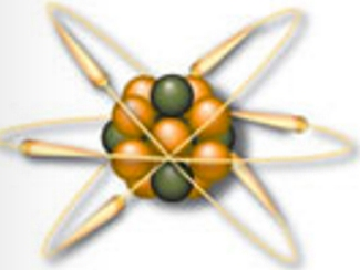 A visual representation of a carbon atom, electrons, protons, an neutrons, February 1, 2016. (http://periodic.lanl.gov/).