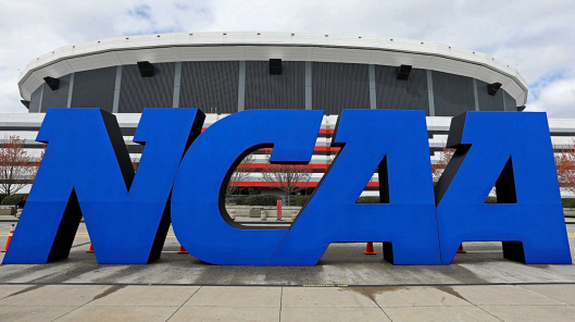 NCAA logo, September 4, 2014. (Getty Images/SportingNews.com).