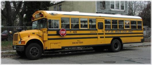TFD bus (they're still around?), South Side, Mount Vernon, NY, May 25, 2016. (http://zztalon.tripod.com/).