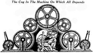 The Cog in the Machine, June 8, 2016. (http://catholicreadingproject.blogspot.com).