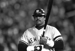 Yankees/Oakland A's/California Angels HOF Reggie Jackson at bat, 1980, accessed June 21, 2016. (AP Photo).