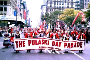 Pulaski Day Parade on Fifth Avenue in Manhattan, October 6, 2013. (http://www.posteaglenewspaper.com).
