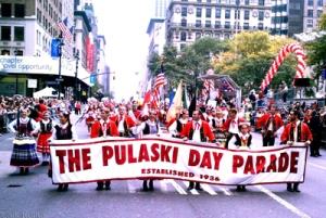 Pulaski Day Parade on Fifth Avenue in Manhattan, October 6, 2013. (http://www.posteaglenewspaper.com).