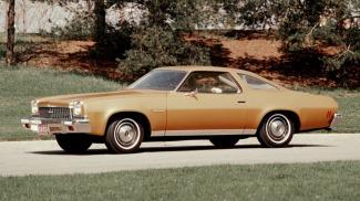 1973 tan-ish Chevy Malibu, August 5, 2016. (http://www.autoblog.com).
