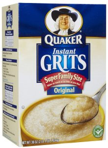 Quaker Instant Grits, Super Family Size, September 4, 2016. (http://soap.com).