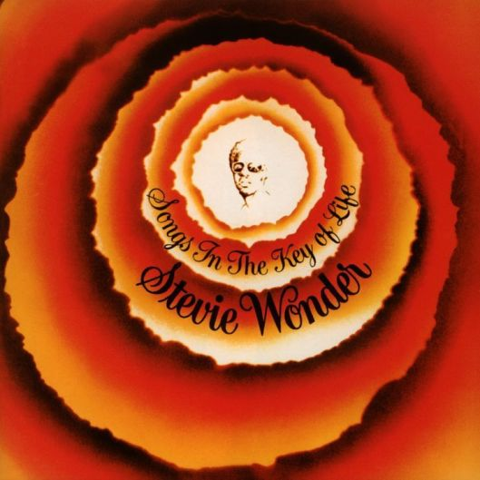 Stevie Wonder's Songs in the Key of Life LP/CD cover and sleeve, 1976, 1999. (http://genius.com).