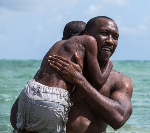 Moonlight snap shot (cropped), Mahershala Ali and Alex Hibbert, October 23, 2015. (http://variety.com).